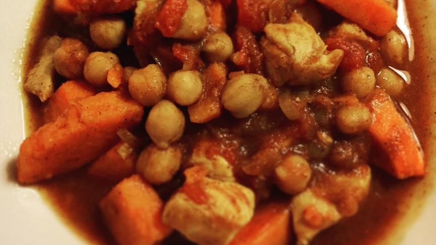Süsskartoffel-Kichererbsen-Curry