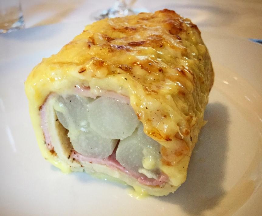 Spargel-Pfannkuchen-Wrap