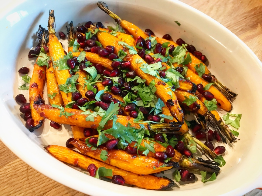 Karotten-mit-Granatapfel