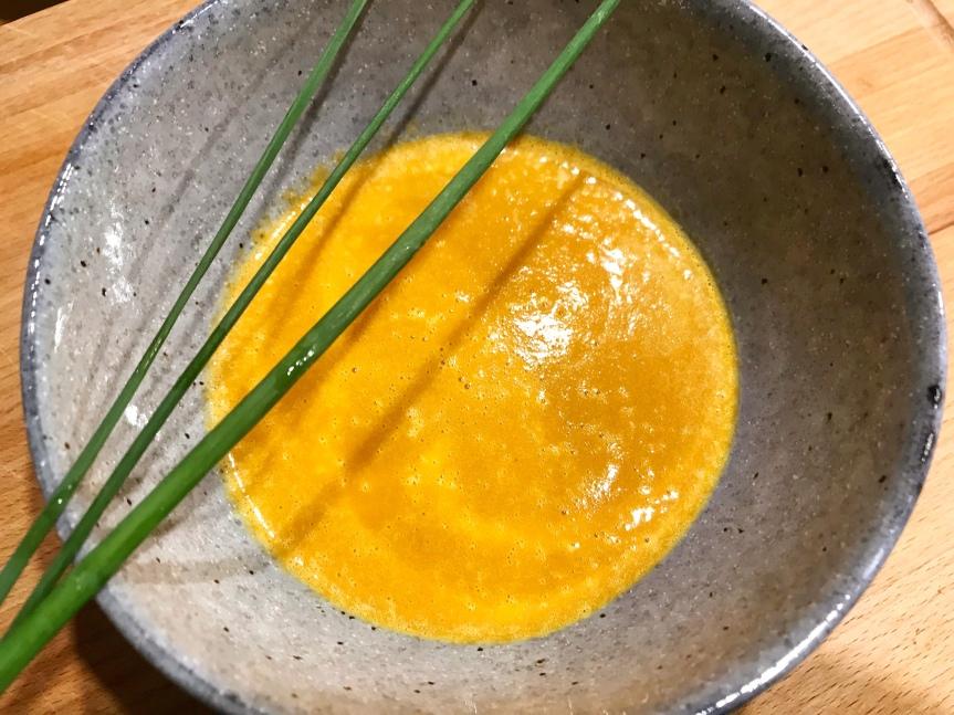 Karamellisierte Möhren-Suppe